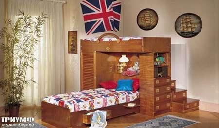 Итальянская мебель Caroti - Морская детская из массива дерева vecchia marina
