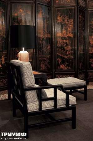 Итальянская мебель Chelini - Кресло с банкеткой