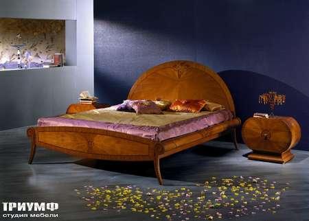 Итальянская мебель Carpanelli Spa - Кровать Bouquet LE04