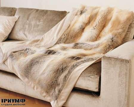 Итальянская мебель Longhi - Плед Volpe Golden Island