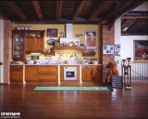 Итальянская мебель Arca - Кухня Telaio массив ореха Италия