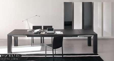 Итальянская мебель Olivieri - Стол раздвижной венге, Ambrogio
