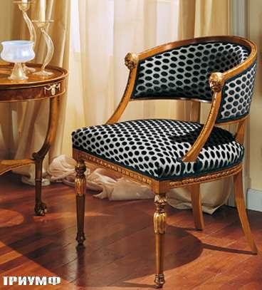 Итальянская мебель Colombo Mobili - Рабочее кресло в имперском стиле арт.194 кол. Mascagni