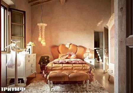 Итальянская мебель Volpi - кровать Gaia