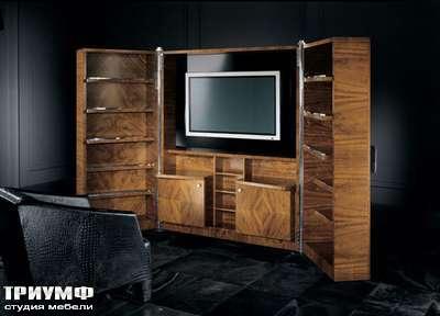 Итальянская мебель Smania - Шкаф-стенка Adone раскрывающаяся
