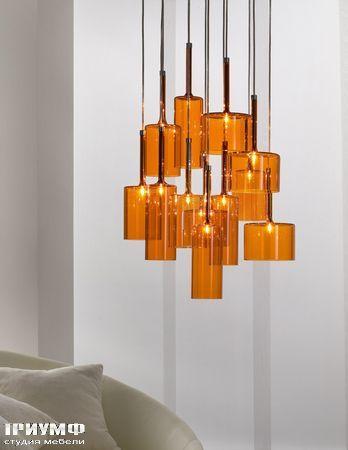 Итальянские светильники Axo light - spill_orange