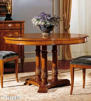 Итальянская мебель Colombo Mobili - Обеденный стол арт. 407 кол. Verdi