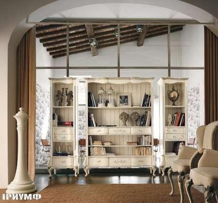 Итальянская мебель Volpi - стеллаж Capri