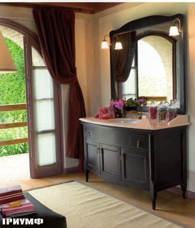 Итальянская мебель Tonin casa - комод с раковиной из дерева