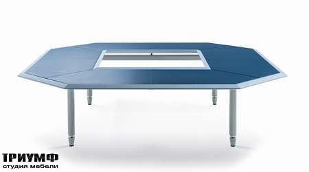 Итальянская мебель Poltrona Frau - стол Artu Meeting