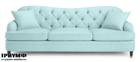 Американская мебель EJ Victor - drake tufted sofa