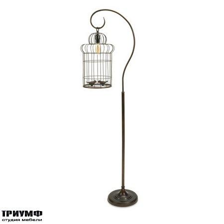 Американская мебель Imax - Carina Birdcage Floor Lamp