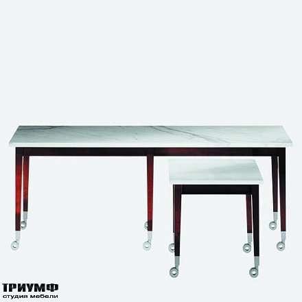 Итальянская мебель Driade - Столы мобильные на колесах