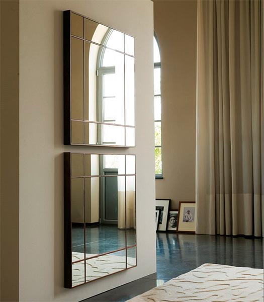 Итальянская мебель Porada - Зеркало Four Seasons Quadrato 100