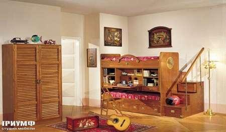 Итальянская мебель Caroti - Шкаф для детской в морском стиле la vecchia marina