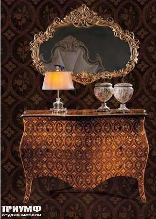 Итальянская мебель Ezio Bellotti - Комод,  зеркало