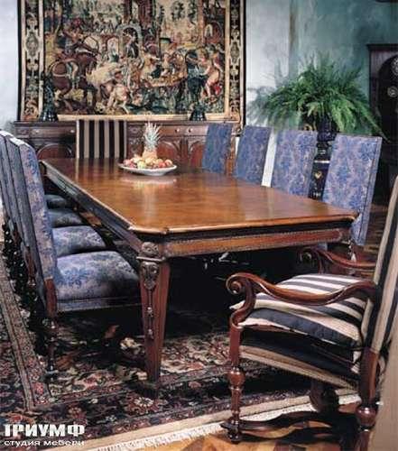 Итальянская мебель Francesco Molon - Стол обеденный с резьбой
