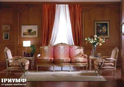 Итальянская мебель Zanaboni - Мягкая мебель Luigi XV массив дерева, шёлк