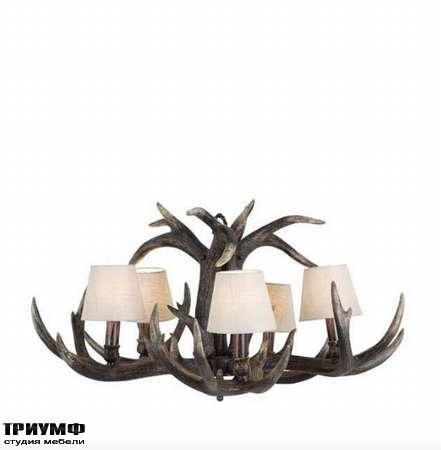 Голландская мебель Eichholtz - chandelier horn small