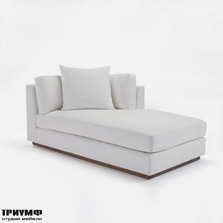 Американская мебель Ralph Lauren Home - DESERT MODERN SECTIONAL CHAISE