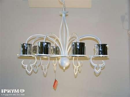 Освещение Eurolampart - Люстра из металла и керамики, арт. 2388-08LA