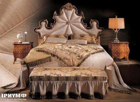 Итальянская мебель Ezio Bellotti - Кровать, тумбочки