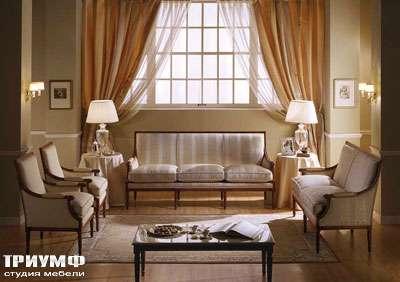 Итальянская мебель Zanaboni - Диван Luigi XVI