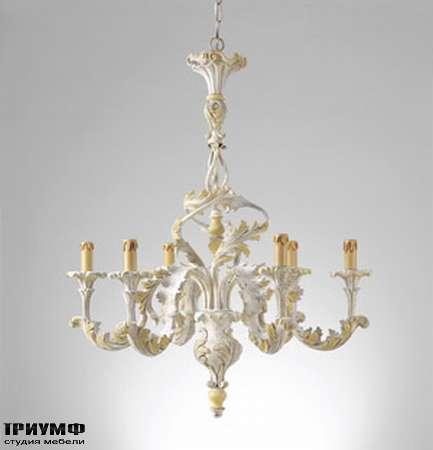 Итальянская мебель Chelini - Люстра потолочная барочная