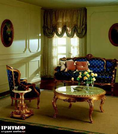 Итальянская мебель Silik - Столик кофейный с мрамором