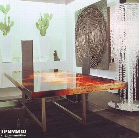 Итальянская мебель Rugiano - Стол Decoro для гостиной