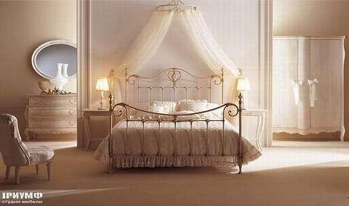 Итальянская мебель Giusti Portos - Кровать с балдахином Melody