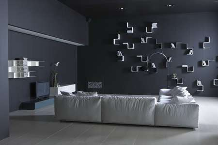 Итальянская мебель Pianca - Диван из коллекция Limbo вид сзади