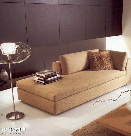 Итальянская мебель CTS Salotti - Диван лежанка современный стиль Akar