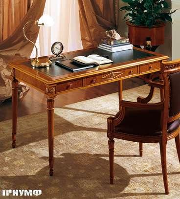 Итальянская мебель Colombo Mobili - Рабчий стол в имперском стиле арт.217 кол. Perosi