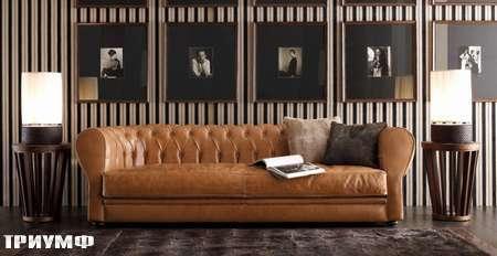 Итальянская мебель Ulivi  - диван стеганный Charlie