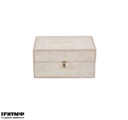 Американская мебель Henredon - Large Parchment Box
