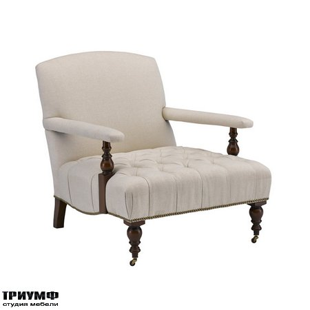 Американская мебель Ralph Lauren Home - OLIVER CHAIR WITH TUFTED SEAT
