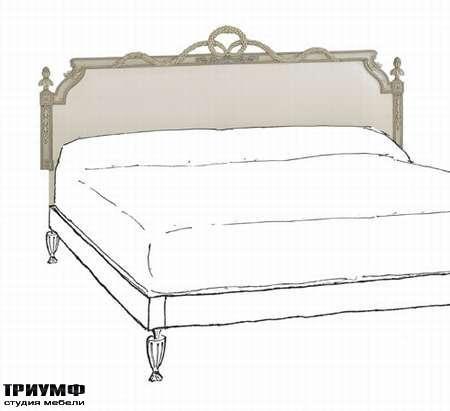 Итальянская мебель Chelini - Изголовье для кровати, дерево арт.1075