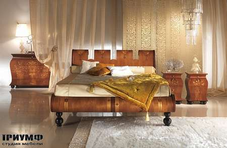 Итальянская мебель Carpanelli Spa - Кровать Regale LE06