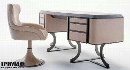 Итальянская мебель Baxter - Стол Mr. Clark, стул вращающийся Paloma