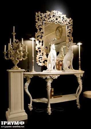 Итальянская мебель Chelini - Зеркало дворцовое арт.1253