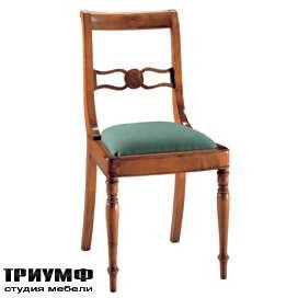 Итальянская мебель Morelato - Стул с резной вставкой на спинке
