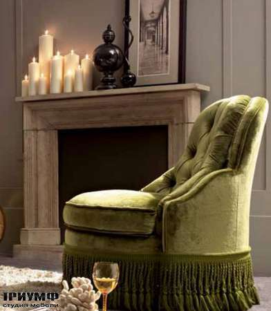Итальянская мебель Dolfi - кресло Beatrice