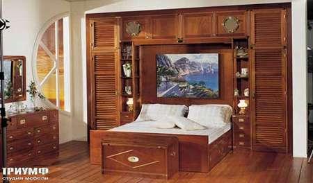 Итальянская мебель Caroti - Морская комната из массива дерева