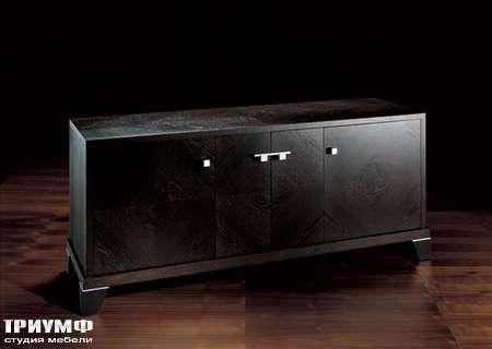 Итальянская мебель Smania - Комод Mixer Deluxe из темного дуба