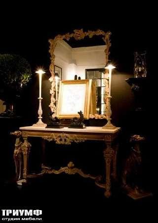 Итальянская мебель Chelini - Зеркало большое арт.627
