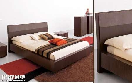 Итальянская мебель Map - кровать Lignum