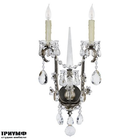 Американская мебель Ralph Lauren Home - ALESSANDRA LARGE CHANDELIER SCONCE IN ANTIQUED GILD