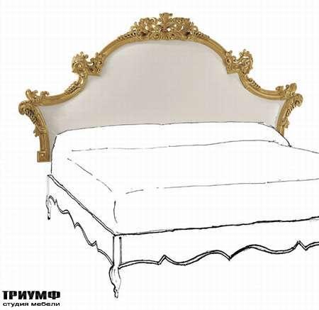 Итальянская мебель Chelini - Изголовье кровати барокко