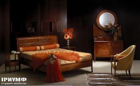 Итальянская мебель Carpanelli Spa - Кровать Zebrano LE01
